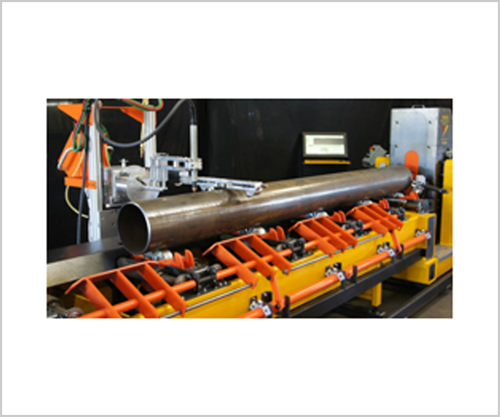 W-244 (6 Axis) CNC Pipe Cutting Machine