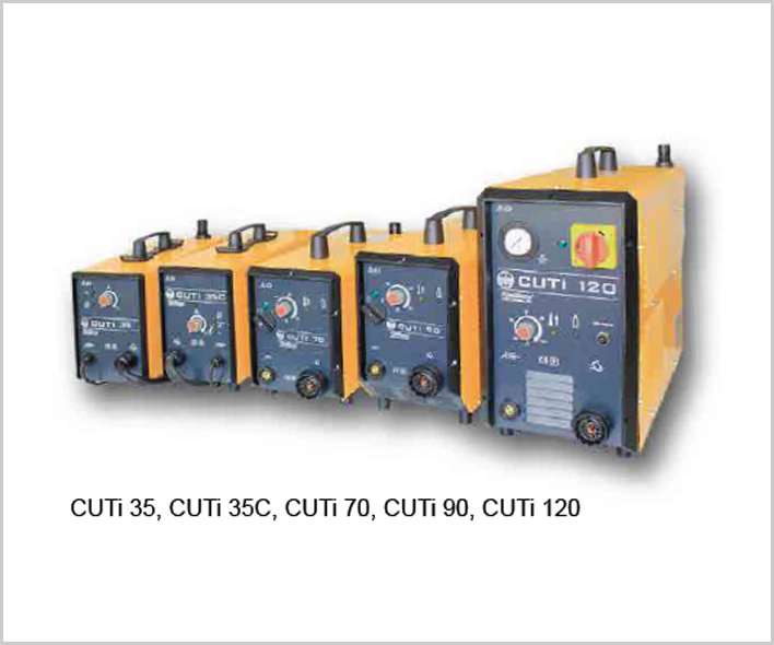 CUTi - Manual Plasma Cutting Inverters