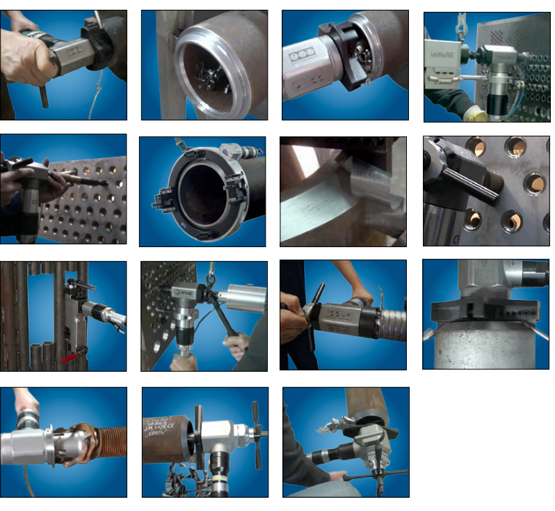 Tube and Pipe Beveling Machine