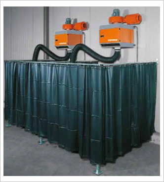 Welding Protection Curtain